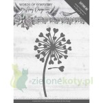 Wykrojnik Amy Design Words of Sympathy, dmuchawiec