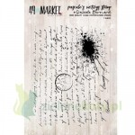 Stemple akrylowe 49 Market Writings stamp - pismo, kleks