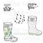Stemple Heartfelt Creations Raindrop Sentiments deszcz