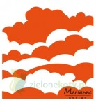 folder do Embbosingu Marianne Design Clouds chmurki