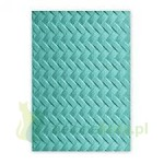 Folder do embbosingu Sizzix  Woven Tkanina Splot