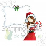 Stempel Stamping Bella Uptown Girl Cristal's Christmas label święta
