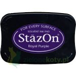 Tusz StazOn Royal purple, fioletowy