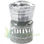 Puder do embossingu Nuvo Silver Moonlight srebrny brokat
