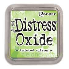 Tusz Distress Oxide Twisted citron