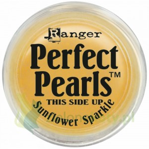 Pigment Perfect Pearls  perłowy Sunflower Sparkle popporina