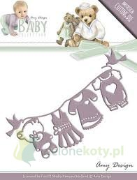 Wykrojnik Amy Designe Baby Collection ubranka dzie