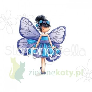 Stempel Stamping Bella Blanche the Butterfly dziewczynka
