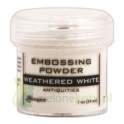 Puder do embossingu Ranger Antiquites Whetered White ecru