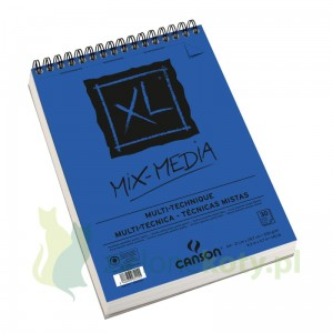 Blok papier akwarelowy Canson Mix Media XL 300g 30k