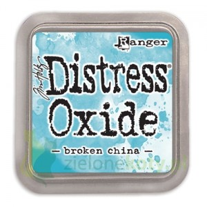 Tusz Distress Oxide Broken China