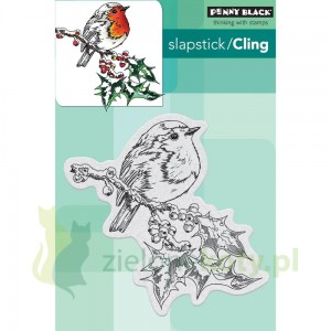 Stempel gumowy cling Penny Black Overjoyed ptak