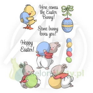 Stemple Art Impressions Hoppy Easter Set - wielkanocne