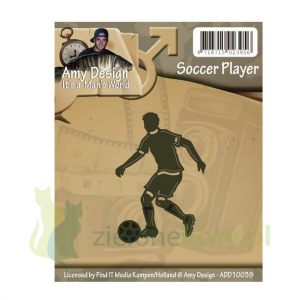 Wykrojnik Amy Designe It's man's world Soccer Play