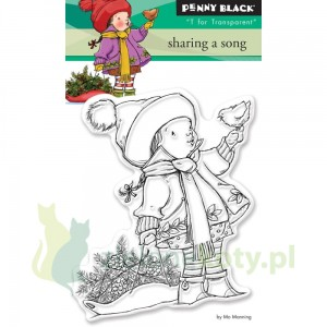 Stempel akrylowy cling Penny Black Sharing a song