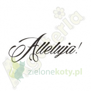 Stempel polimerowy Agateria Alleluja napis