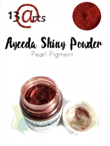 Pigment perłowy  Ayeeda Shiny Powder Wine Red Sati