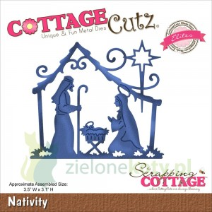 Wykrojnik Cottage Cutz  Nativity szopka
