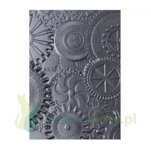 Folder do embbosingu Sizzix  Tim Holtz Mechanics tryby
