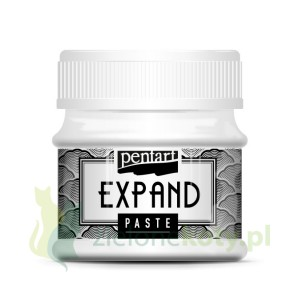 Pasta do embossingu puchnąca Pentart Expand 50 ml