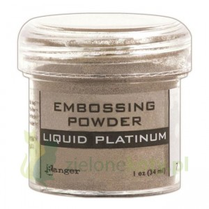 Puder do embossingu Ranger  Liquid platinum