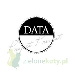 Stempel gumowy Project Prezent Kółeczko - data album
