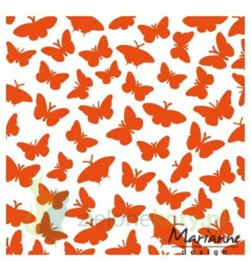 folder do Embbosingu Marianne Design Butterflies motyle