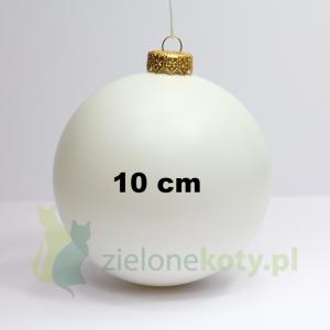 Bombka plastikowa kula 10cm