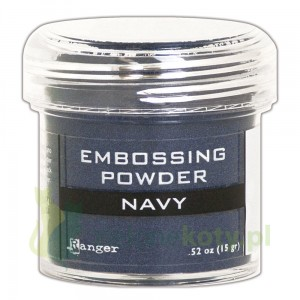 Puder do embossingu Ranger NAVY granat