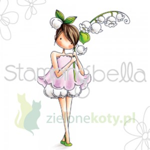 Stempel Stamping Bella Garden Girl Lily Of The Valley dziewczynka