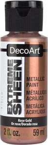 Farba metaliczna DecoArt Extreme Sheen Rose Gold