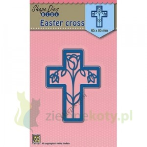 Wykrojnik Nellie`s Choice Easter cross, krzyż