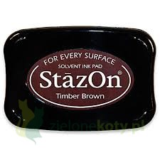 Tusz StazOn Timber Brown brązowy