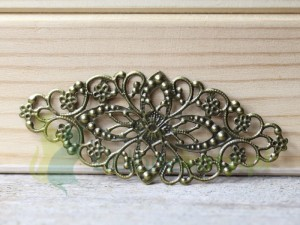 ornament metal 8cm