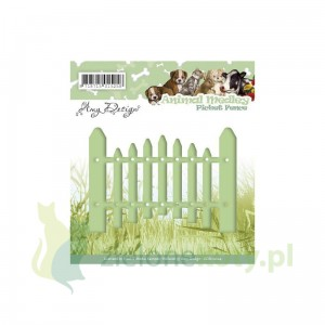 Wykrojnik Amy Designe Animal Medley Picket fence p