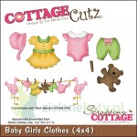 wykrojnik Cottage Cutz  Baby Girl Clothes ubranka