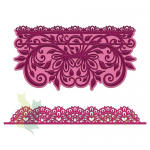 Wykrojnik Heartfelt Creations Sweetheart Borders koronka