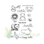 Stemple akrylowe Hero Arts Cute animals zwierzatka