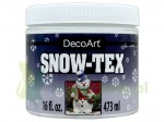 Pasta strukturalna DecoArt  Snow-Tex 473ml śnieg