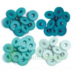 "Nity We R Memory Keepers Aqua 5mm (3/16"") szerokie morskie"