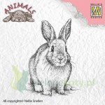 Stempel Nellie's Choice Rabbit zając