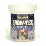 Pasta strukturalna DecoArt  Snow-Tex 118ml snieg
