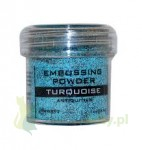 Puder do embossingu Ranger Antiquities turkusowy