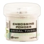 Puder do embossingu Ranger  Bridal Tinsel przezroczysty brokat