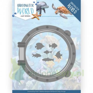 Wykrojnik Amy Design Underwater World Porthole  bulaj Morskie