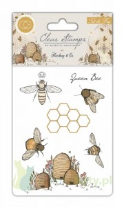 Stempel akrylowy Craft Consortium Tell the bees pszczoła owady