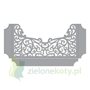 Wykrojnik Spellbinders Filigree Shadowbox Easel and Pocket kieszonka