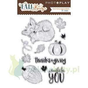 Stempel akrylowy PhotoPlay Fall breeze - jesień lis