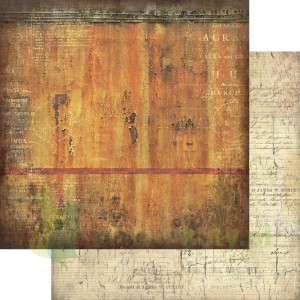 Papier 30x30 13arts Grungy walls Rusted