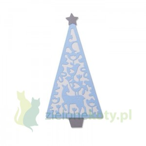 Wykrojnik Sizzix Thinlits Folk Christmas tree Choinka